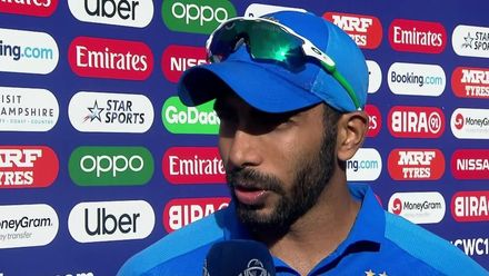 CWC19: IND v AFG - Player of the Match, Jasprit Bumrah