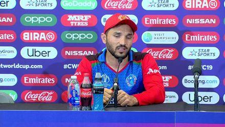 CWC19: IND v AFG - Gulbadin post-match interview