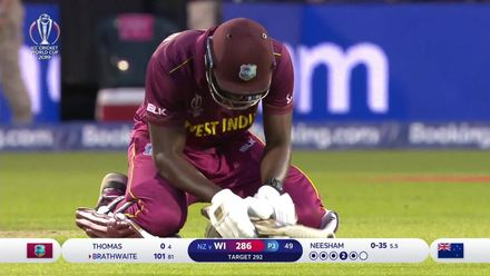 CWC19: WI v NZ - Brilliant Boult catch snatches victory for NZ