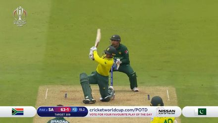CWC19: Pak v SA - Highlights of South Africa's chase
