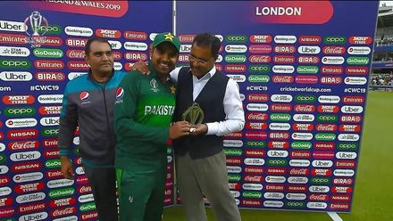 CWC19: Pak v SA - Player of the match, Haris Sohail