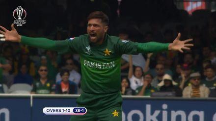 CWC19: Pak v SA - Overs 1-10 highlights