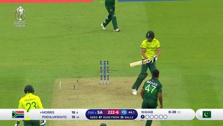 CWC19: Pak v SA - Uber Best Deliveries