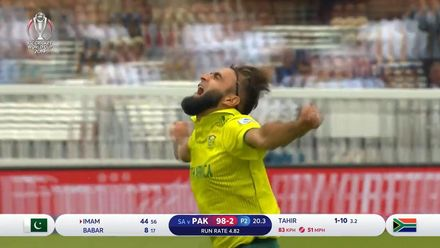 CWC19: Pak v SA - How the Pakistan wickets fell