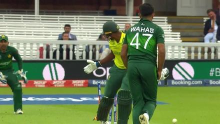 CWC19: Pak v SA - Ngidi is the third batsman to be bowled by Wahab