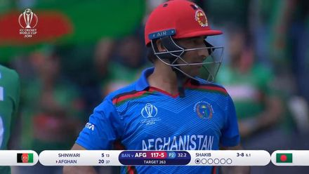 CWC19: BAN v AFG - Shakib has Afghan caught in the deep