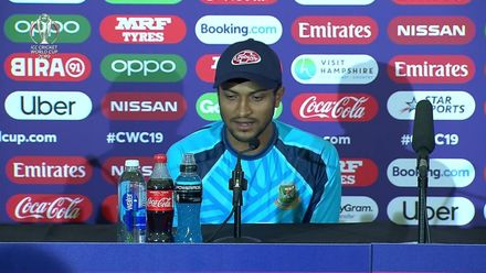 CWC19: Ban v Afg – Shakib Al Hasan press conference