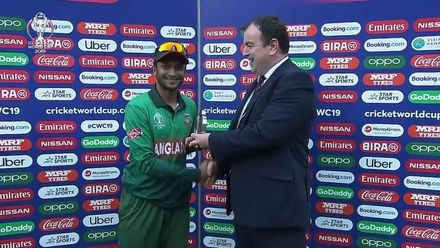 CWC19: BAN v AFG - Player of the match, Shakib Al Hasan