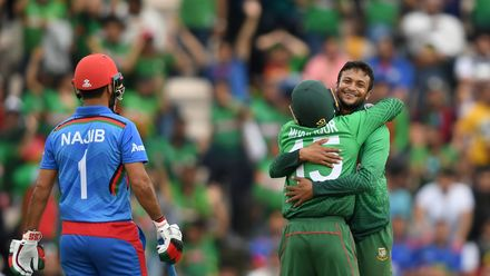 CWC19: BAN v AFG - Match highlights