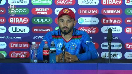 CWC19: Ban v Afg – Gulbadin Naib press conference