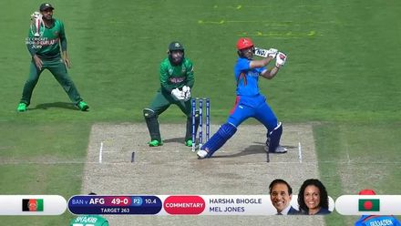 CWC: BAN v AFG - Afghanistan innings highlights