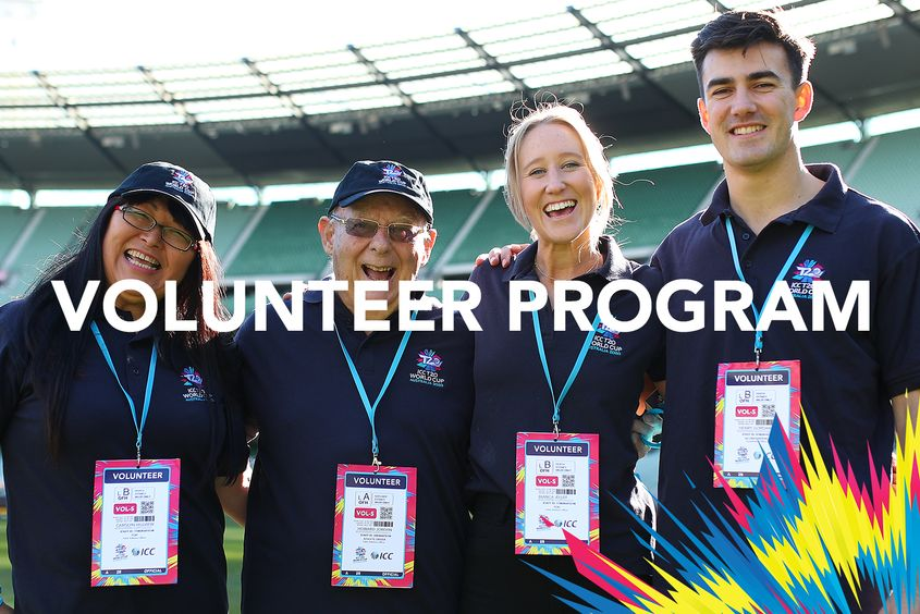 T20 World Cup 2020 - Volunteer Program