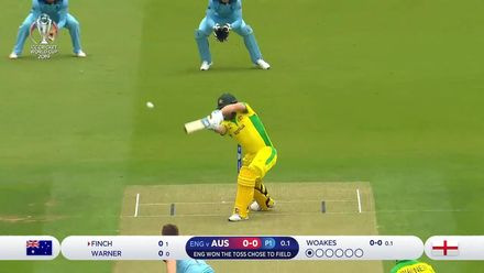 CWC19: ENG v AUS - Finch and Warner start strongly
