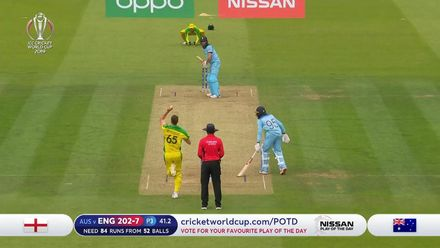 CWC19: ENG v AUS - Maxwell sensational to dismiss Woakes