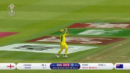 CWC19: ENG v AUS - Rashid out, Australia seal victory
