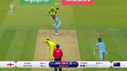 CWC19: ENG v AUS - All the wickets