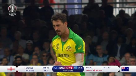 CWC19: ENG v AUS - Starc ends Stokes fightback