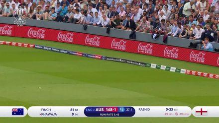 CWC19: ENG v AUS - Australia post 285/7 highlights