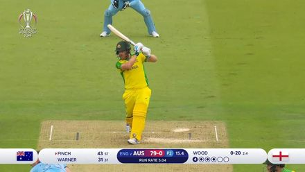 Nissan POTD - Finch smashes a brilliantly timed boundary
