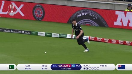 CWC19: NZ v PAK - Highlights of Haris Sohail's 68
