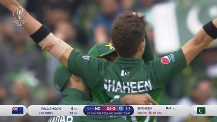 CWC19: NZ v PAK - Highlights of Shaheen Afridi's 3-28