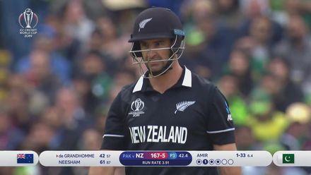CWC19: NZ v PAK - Highlights of Colin de Grandhomme's 64