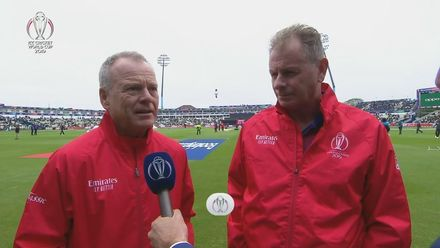 CWC19: NZ v PAK - Update from the umpires