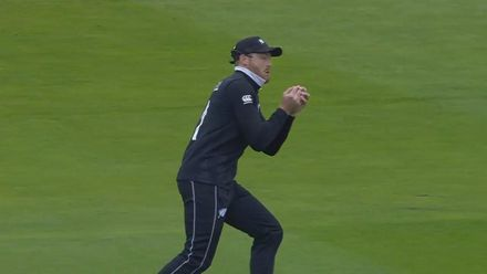 CWC19: NZ v PAK - Boult gets rid of Fakhar Zaman