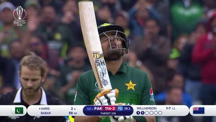 CWC19: NZ v PAK - Pakistan innings highlights
