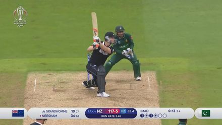 CWC19: NZ v PAK - Highlights of Jimmy Neesham's 97*