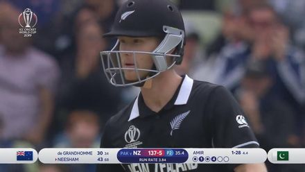 CWC19: NZ v PAK - Highlights of New Zealand's innings
