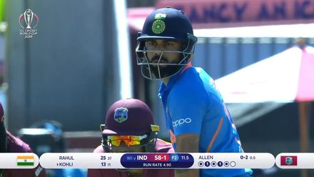 CWC19: WI v IND – Oppo Be A Shotmaker