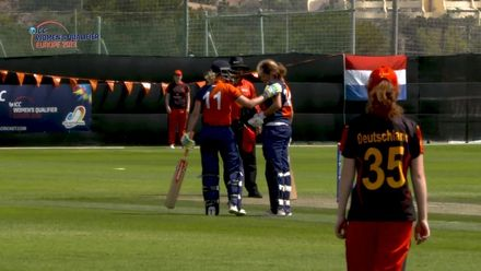 ICC Women's T20 World Cup Europe Qualifier: Ger v Ned – Netherland's Sterre Kalis smashes a record 76-ball 126*