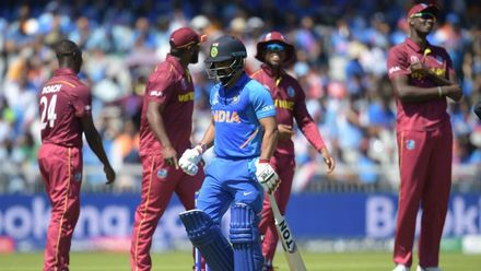 CWC19: WI v IND – Jadhav becomes Roach's third victim
