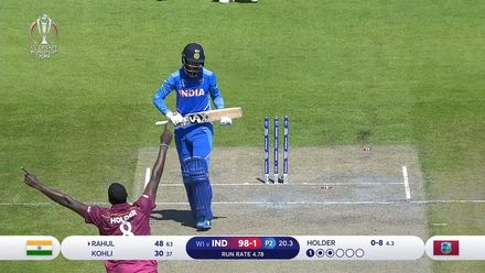 CWC19: WI v IND – Uber Eats Best Deliveries