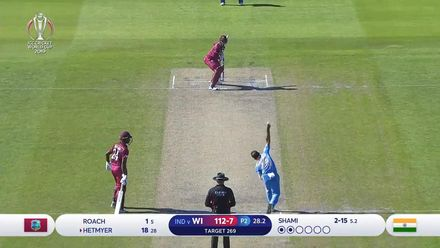 CWC19: WI v IND – West Indies innings highlights