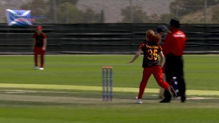 ICC Women's T20 World Cup Qualifier: Ger v Sco -  Kathryn Bryce reflects on Scotland's first win