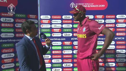 CWC19: WI v IND – Post-match presentation