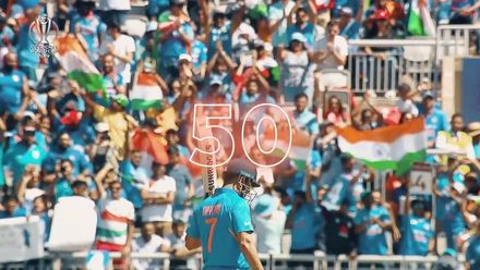 CWC19: WI v IND – MS Dhoni montage
