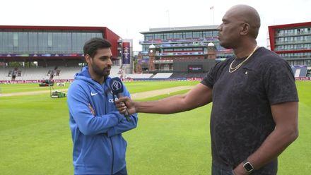 CWC19: WI v Ind – Bhuvneshwar Kumar interview