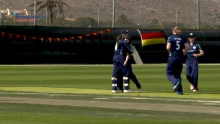 ICC Women's T20 World Cup Europe Qualifier: Ned v Sco – Two huge catches for Scotland