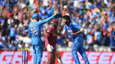 CWC19: WI v IND – Match highlights
