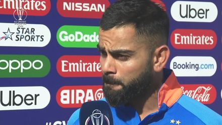 CWC19: WI v IND – Kohli showers praise on MS Dhoni