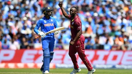 CWC19: WI v IND – Roach has Shankar caught behind for 14
