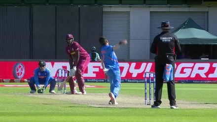 CWC19: WI v IND – Chahal gets rid of Holder