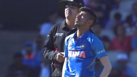 CWC19: WI v IND – Cottrell smashes a 95 meter six