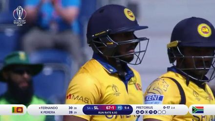 CWC19: SL v SA - Sri Lanka are 203 all out batting first, highlights