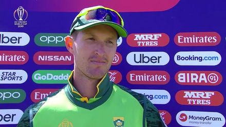 CWC19: SL v SA - Pretorius shares his thoughts at the halfway stage