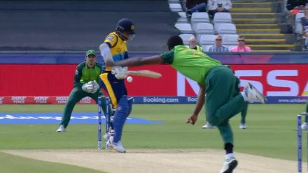 CWC19: SL v SA - Rabada gets Karunaratne first ball of the match
