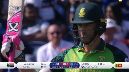 CWC19: SL v SA - Highlights of du Plessis's 96*